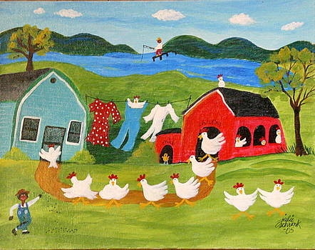 Chicken Dance by Julie Schronk