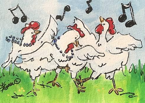 Chicken Dance by Terri Einer