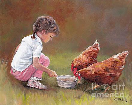 Chicken Dinner by Charlotte Yealey