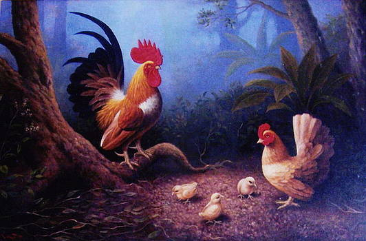 Chickens And The Fogs by Yuki Othsuka