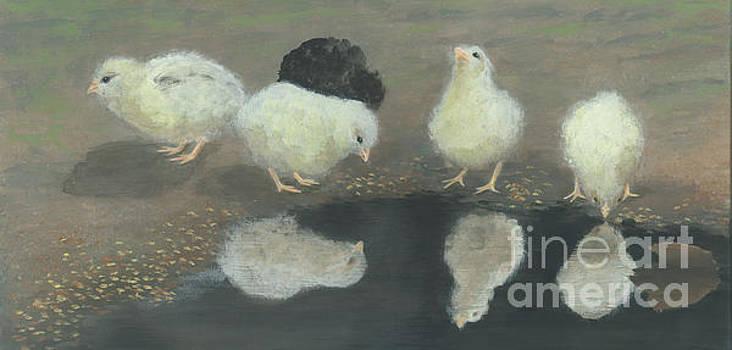 Chicks by Lela  Buis