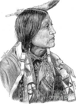 Chief Joseph of Nes Perce by Bill Hubbard