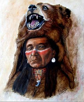 Chief Running Bear by Amanda Hukill