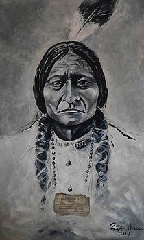 Chief Sitting Bull by Eddie Lim