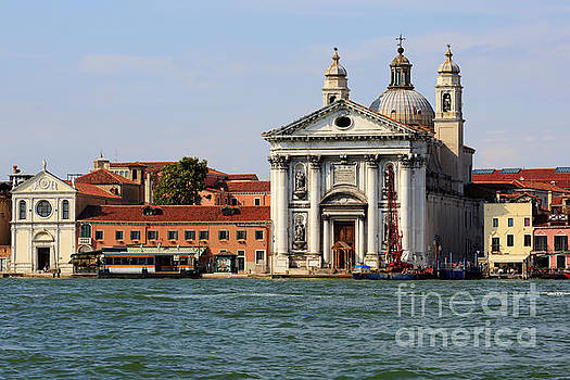 Chiesa dei Gesuati on Guidecca Canal in Venice Italy by Louise Heusinkveld