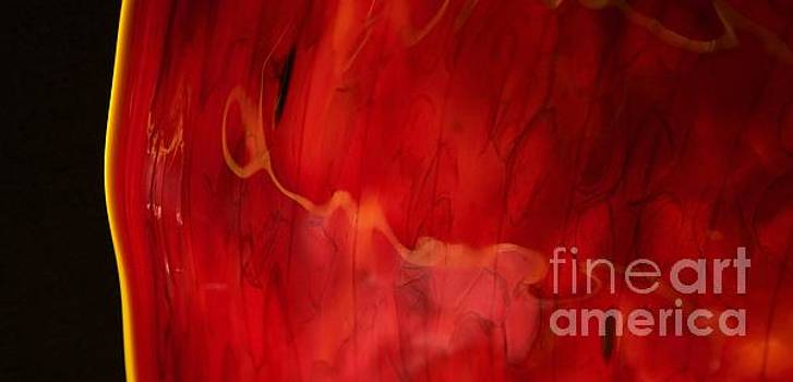 Chihuly Red by Glennis Siverson
