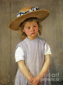 Cassatt - Child In A Hat