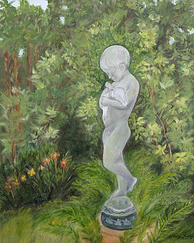 Child of Peace as in Brookgreen Gardens by Shirley Lawing