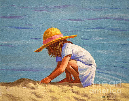 Christopher Shellhammer - Child playing in the sand