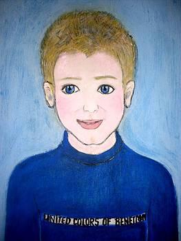 Child Portrait by Elena Buftea