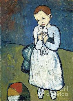 Picasso - Child With A Dove
