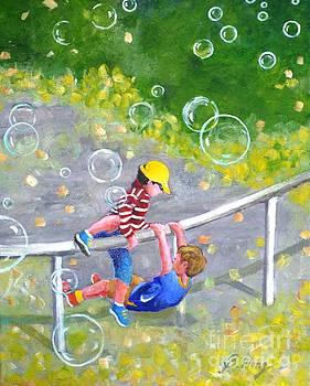 Childhood #1 by Betty M M Wong