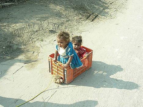 Childhood-1 by Karuna Ahluwalia