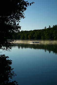 Childhood Memories of Mornings on the Lake by Lon Casler Bixby