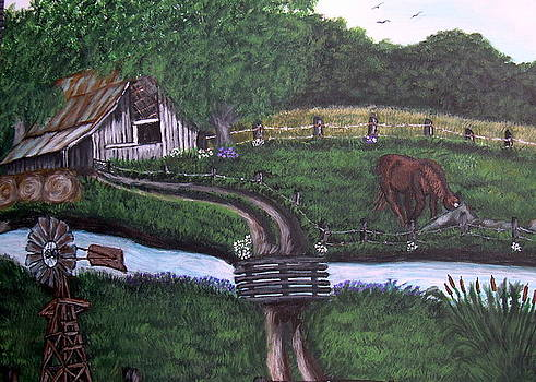Childhood Memory by Vickie Wooten