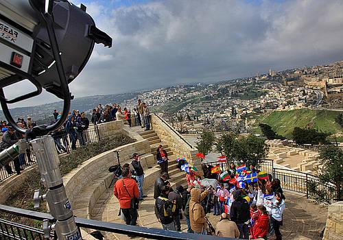 Zoriy Fine - Children call for peace. Jerusalem. Mount of Olives