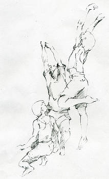 Children of Hope Original Drawing Clothed by Michael Rutland