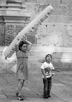 Michael Peychich - Children playing