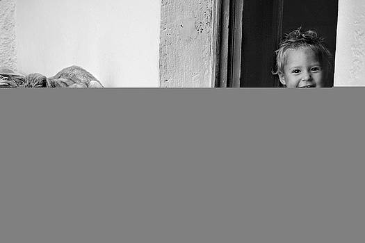 Child's smile by Justyna Lorenc