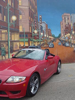 Chilicothe Street Mural by Chris Cane