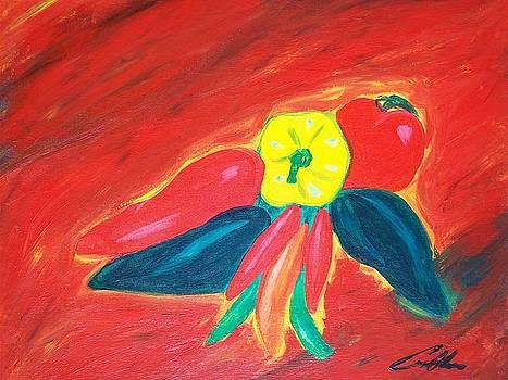 Chilis by Carlos Alvarado