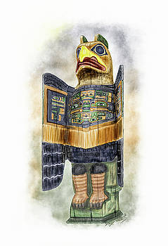 Chilkat Eagle by David Wagner