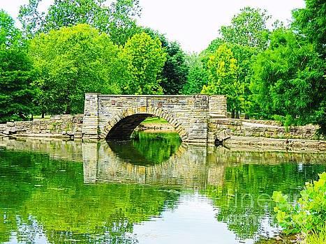Chillicothe City Park Bridge by Angela Weis