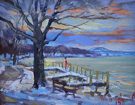 Ylli Haruni - Chilly Sunset in Niagara River
