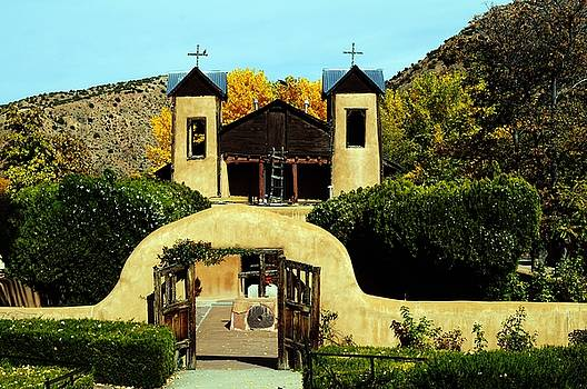 Chimayo Church by Joseph Frank Baraba