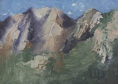 Chimney Rock by Barbara Andolsek