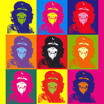 Chimp Guevara 9 Times by Ken Surman