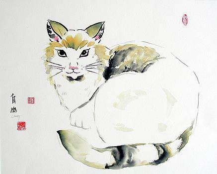 China Cat by Liberty Dickinson