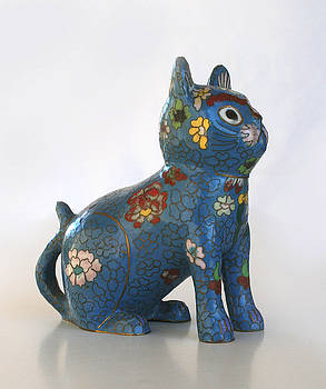 China Cat by Marna Edwards Flavell