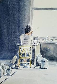 China Painter by Lou Baggett