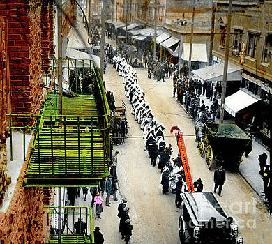 California Views Archives Mr Pat Hathaway Archives - Chinatown funeral procession in San Francisco  California Chinatown