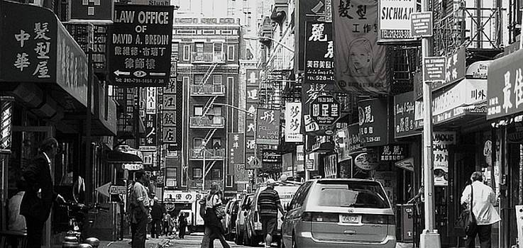 Chinatown Nyc by Maria Scarfone