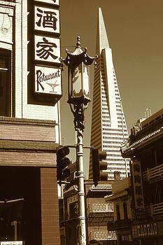 Peter Potter - San Francisco Chinatown and Pyramid