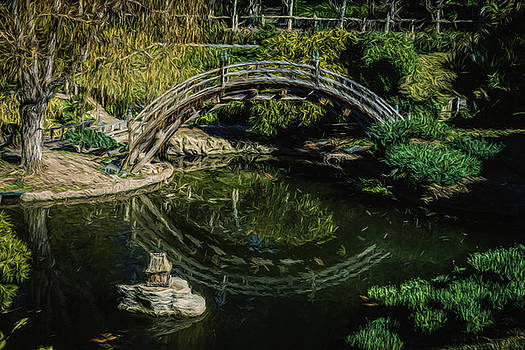 Mike Penney - Chinese Garden Bridge