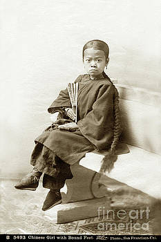 California Views Mr Pat Hathaway Archives - Chinese Girl with Bound Feet Circa 1880