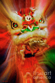 Chinese Lion Dance by Blake Richards