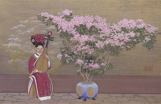 Chinese Musician by Frances  Dillon