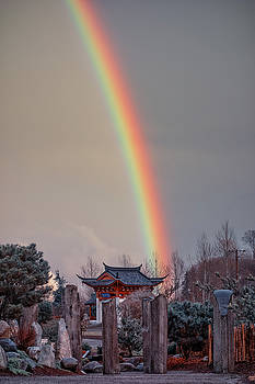 Chinese Reconciliation Park Rainbow by Jason Butts