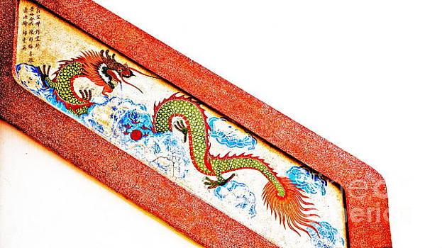 Chinese Stairway Dragon by Ian Gledhill