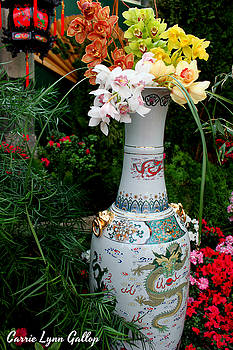 Chinese Vase by Carrie Gallop