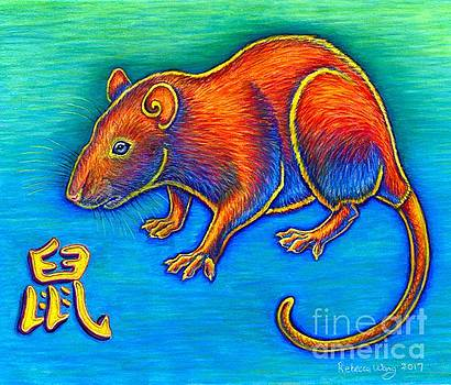 Chinese Zodiac - Year of the Rat by Rebecca Wang
