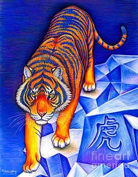 Chinese Zodiac - Year of the Tiger by Rebecca Wang
