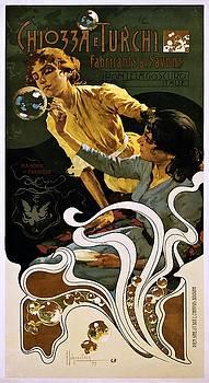 Chiozza e Turchi, fabricants de savons, advertising poster, 1899 by Vintage Printery