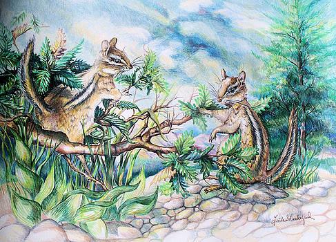 Chipmunk by Linda Shackelford