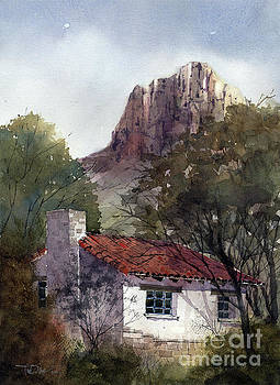 Chisos Basin Cabin by Tim Oliver