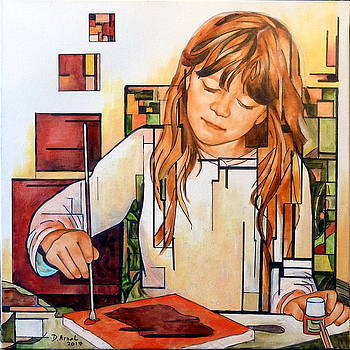 Chloe Peint by Danielle Arnal